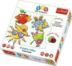Gra edukacyjna 4 pory roku Trefl 24010