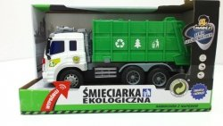 Śmieciarka zabawka ekologiczna z napędem Madej 68082