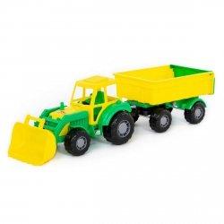 Majster traktor z przyczepą i łyżką Polesie 35264