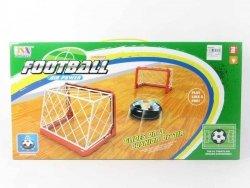 Zestaw do Gry w Piłkę Nożną 2 Bramki + Krążek na Sprężone Powietrze