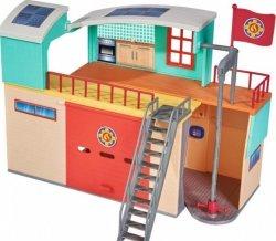 Strażak Sam Stacja ratunkowa z figurką Simba 9258282