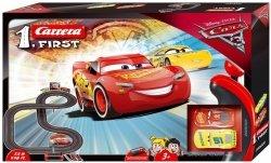Tor wyścigowy Disney Cars 3 1. First Carrera 63011