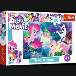 Puzzle My Little Pony Podwodne kucyki 60 el. Trefl 17298