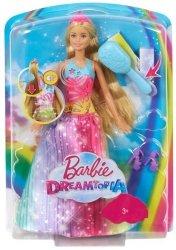 Lalka Barbie Magiczne Włosy Księżniczki Mattel FRB12