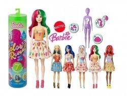 Lalka Barbie w Tubie Kolorowa Niespodzianka Mattel GTP41