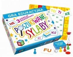 Gra Edukacyjna Poszukiwane Sylaby Multigra 30056