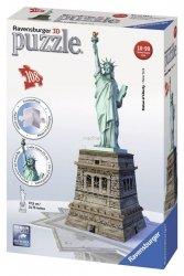 Puzzle 3D Statua Wolności 108 el. Ravensburger 125845