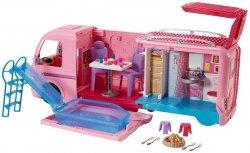 Kamper Barbie Wakacyjny Pojazd z Basenem Mattel FBR34