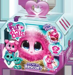 Fur Balls Pink Od Brudaska do Przytulaska TM Toys 635P
