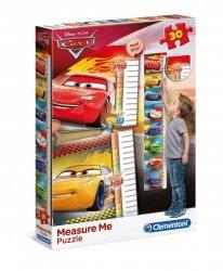 Puzzle Miarka Wzrostu Cars Auta 30 el. Clementoni 20324