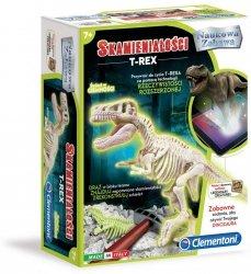 Naukowa Zabawa Skamieniałości T-Rex Fluorescencyjny Clementoni 60889