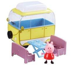 Kamper Świnki Peppy z figurką TM Toys 06060