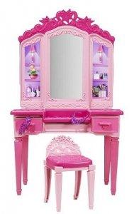 Toaletka Super Księżniczki Barbie Mattel CDY64