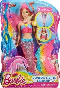 Lalka Barbie Tęczowa syrenka Mattel DHC40
