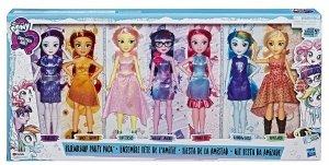 Lalki My Little Pony Equestria Girls Friendship Party 7pack Hasbro E1933