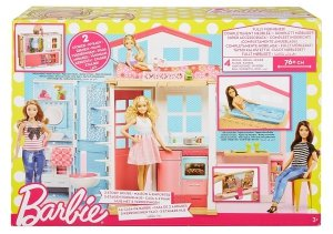 Piętrowy Domek dla lalek Barbie Mattel DVV47
