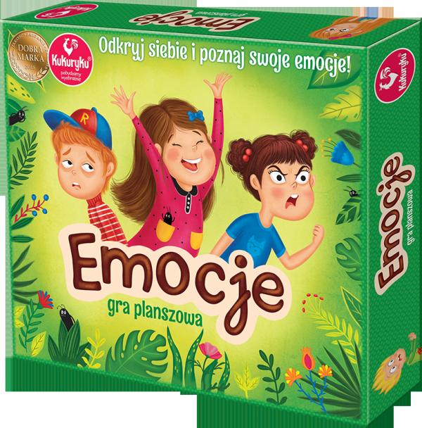 Gra Planszowa Emocje Kukuryku Adamigo 56366