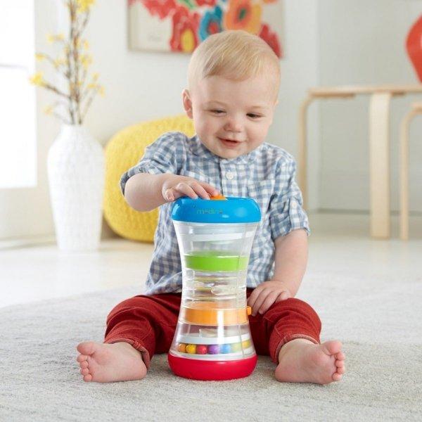 Aktywizująca wieża dla niemowląt