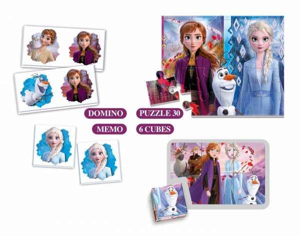 Edukit 4w1 Frozen 2 Kraina Lodu 2