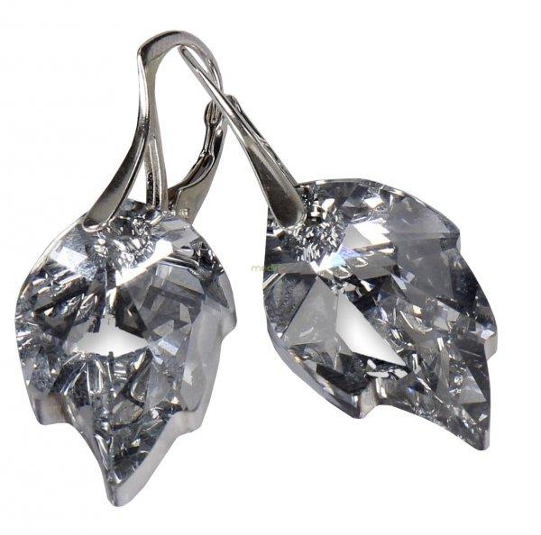 Kolczyki srebrne Swarovski próba 925 biżuteria dla Niej