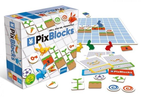 Gra Logiczna PixBlocks Granna 00372