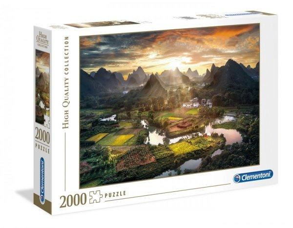 Puzzle Widok na Chiny 2000 el. Clementoni 32564