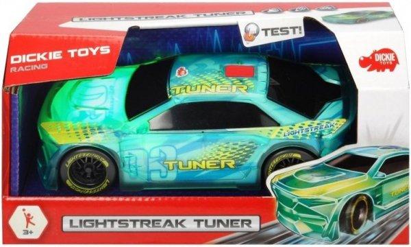 pojazd lightstreak tuner, efekty świetlne i dźwiekowe