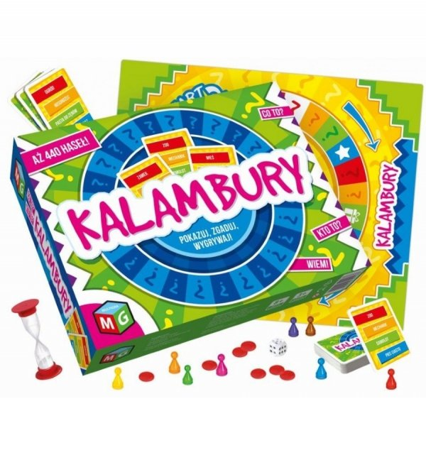 Gra Towarzyska Kalambury Multigra 30126