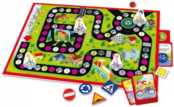 nauka zasad ruchu drogowego i znaków drogowych gry i zabawy