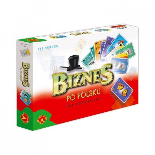 Gra podróżna Biznes po Polsku Karty Alexander 0123