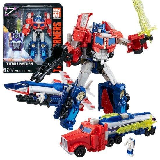 Transformers Titans Return Figurka Diac i Optimus Prime