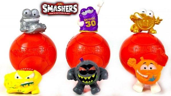 Figurki Zuru Smashers