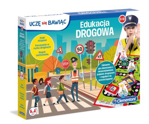 Gra edukacyjna Edukacja drogowa Clementoni 60233