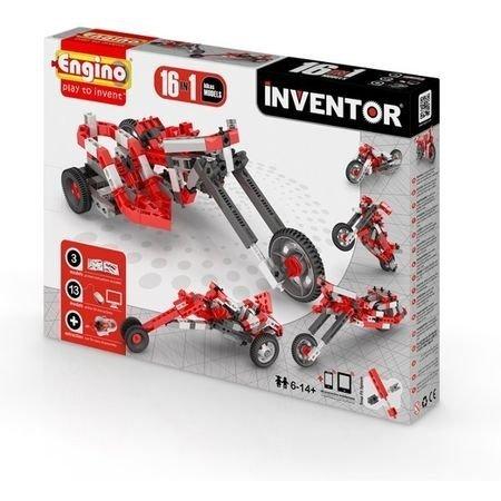 Klocki konstrukcyjne Engino Inventor 16w1 Motory Engino Formatex 1632