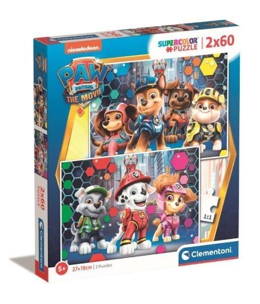 Puzzle Psi Patrol Paw Patrol 2x60 el. Clementoni 24787