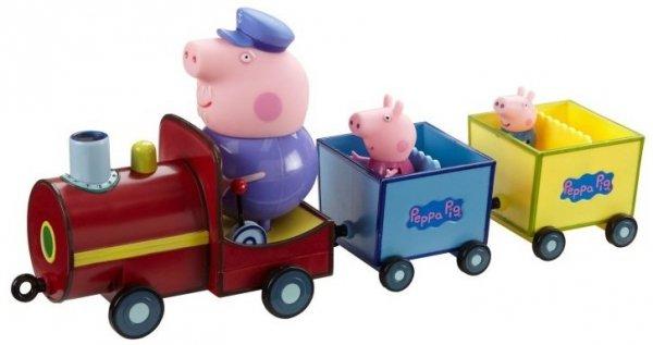 pociąg dziadka peppy tm toys 5234 świnka peppa