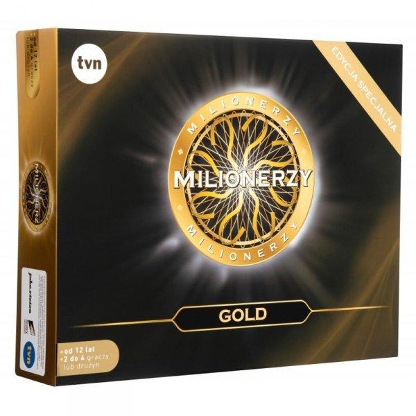 Gra Towarzyska Milionerzy Edycja Gold TM Toys MIL308299