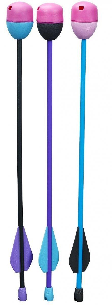Nerf Rebelle Zestaw 3 świszczące strzały Hasbro A8860