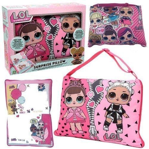 LOL Suprise Poduszka Różowa z laleczkami Dante 00607142