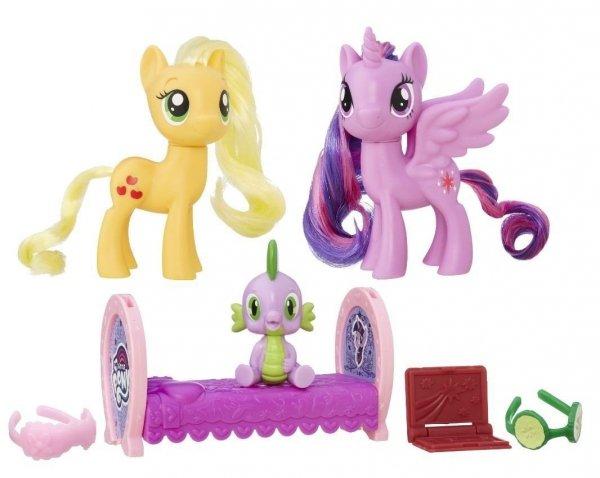 Zestaw Przyjaciółek Twilight Sparkle i Applejack My Little Pony Hasbro B9850