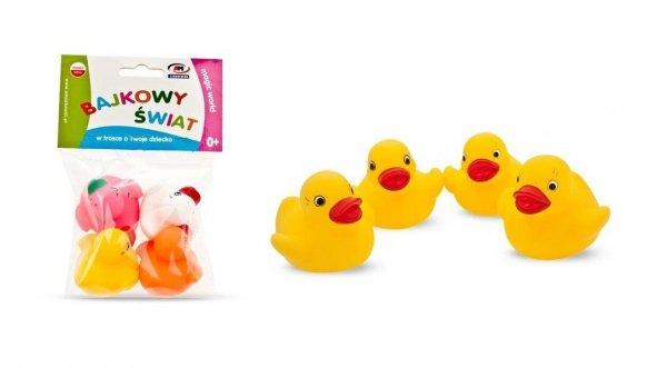 Zabawka do kąpieli 4 kaczuszki AM Zabawki 012A