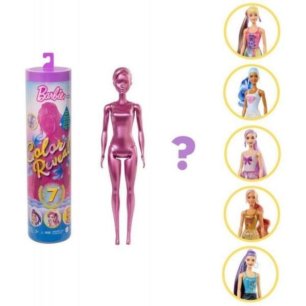 Barbie Color Reveal Brokatowa Seria Mattel GWC55