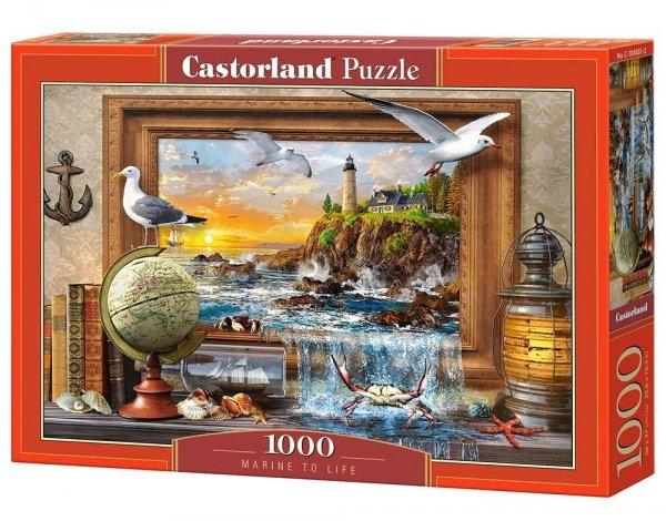 Puzzle Morskie Życie 1000 el. Castorland 10458