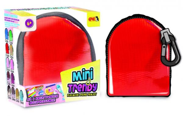 MiniTrendy Plecaczki Pełne Frajdy Epee 04114 Czerwony