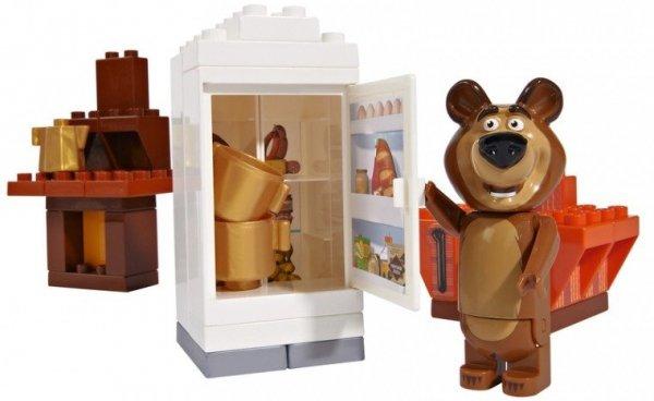 Klocki Masza i Niedźwiedź Pokój Niedźwiedzia Miszy