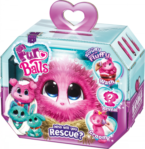 Fur Balls Pink Od Brudaska do Przytulaska