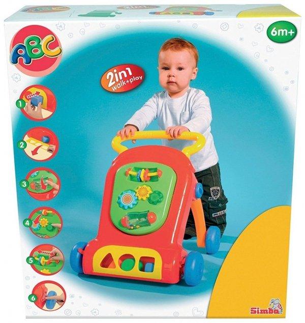 Interaktywny Chodzik Pchacz ABC Simba 4015245