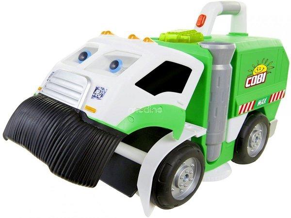 śmieciarka zabawka, Pojazd sprzątający Max Łakomczuch