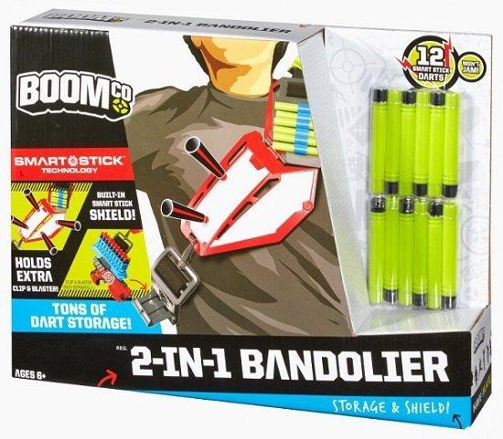BoomCo Bandolier pas i tarcza Mattel BBR55