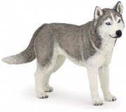 Figurka pies Siberian Husky - PAPO